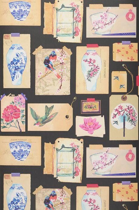 Archiv Carta da parati Belana marrone beige chiaro Larghezza rotolo