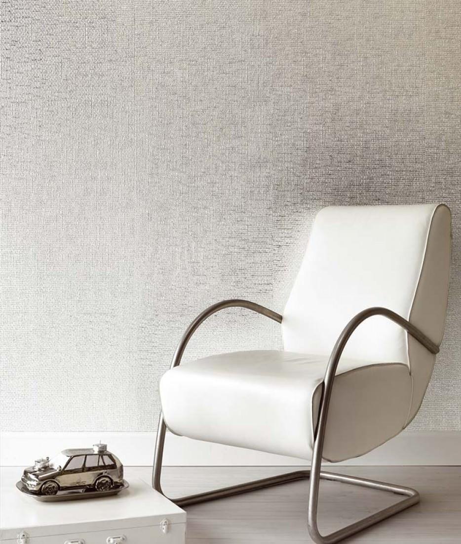 tapete kronos silber glanz tapeten der 70er. Black Bedroom Furniture Sets. Home Design Ideas