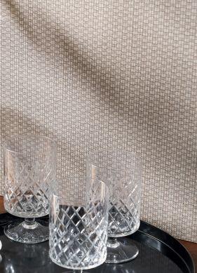 Wallpaper Optone beige grey Raumansicht