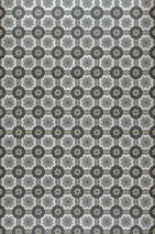 Wallpaper Erebos Matt Graphic elements Grey beige Ivory Grey brown Grey white shimmer Black shimmer Stone grey