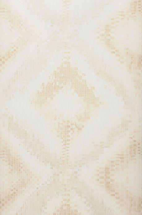 Archiv Carta da parati Eniga bianco crema Larghezza rotolo