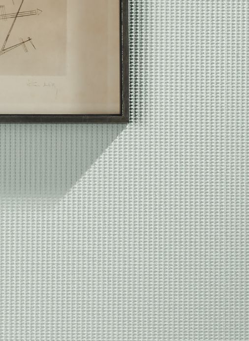 Geometric Wallpaper Wallpaper Bauhaus Original 02 white Room View