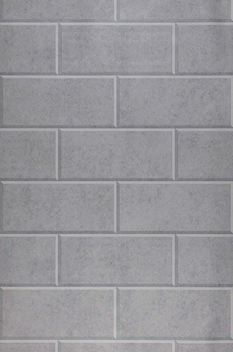 Wallpaper Neto Matt Geometrical elements Granite Imitation stone Grey tones