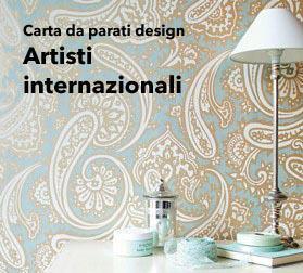 Carta da parati design per interni creativi tappezzerie for Carta parati inglese