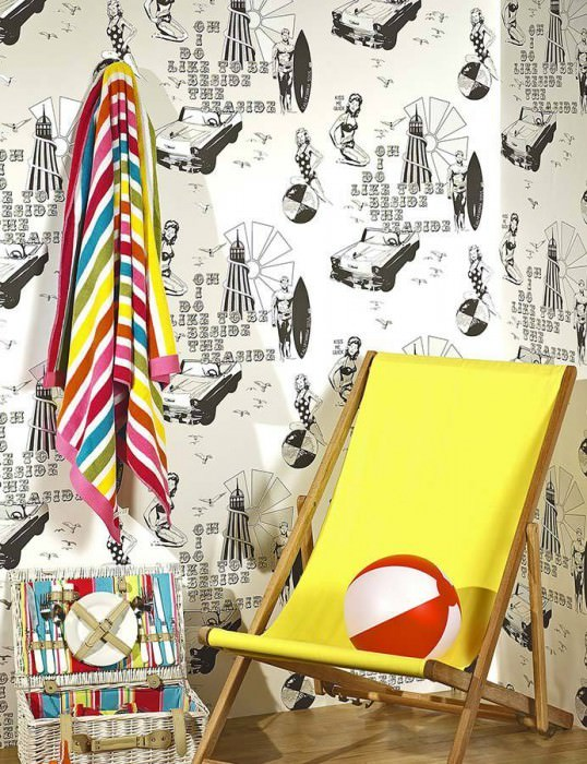 Wallpaper Kiss me Matt Light houses Sea gulls People White Black Silver
