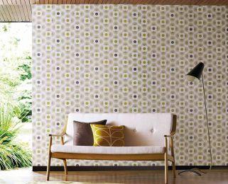 Wallpaper Brahma yellow green