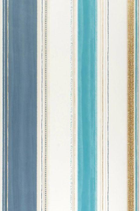 Archiv Wallpaper Fabiana turquoise blue Roll Width