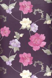 Papel pintado Florentina violeta érica