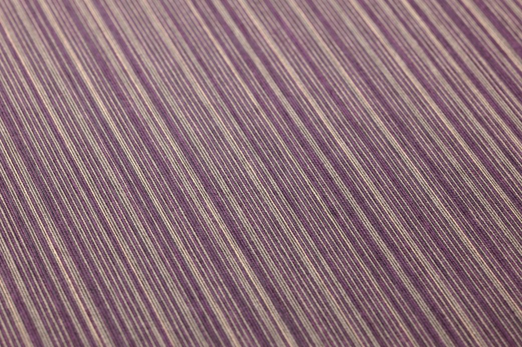 Textile Wallpaper Wallpaper Calpan crimson violet Detail View
