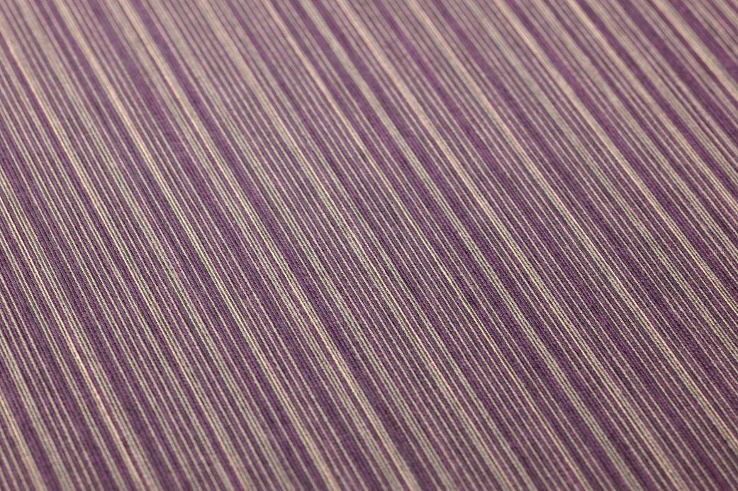 Papier peint textile Papier peint Calpan violet cramoisi Vue détail