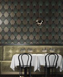 Wallpaper Pontinius pastel green