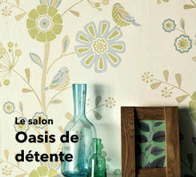 Papier Peint Salon Pour Espaces A Vivre Fabuleux En Boutique