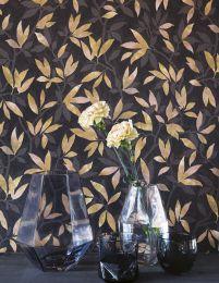 Wallpaper Dagista grey brown