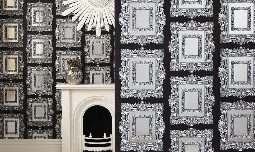 luxus tapeten zum schwelgen und repr sentieren im. Black Bedroom Furniture Sets. Home Design Ideas
