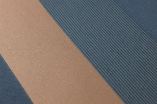 Papier peint Timbu Mat Rayures Vert bleu Bronze chatoyant