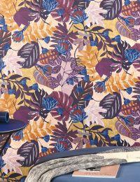 Papel pintado Sunago tonos de violeta
