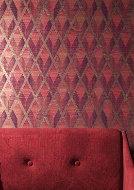 Papier peint Capas rouge Raumansicht