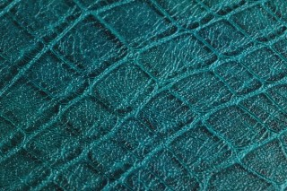 Wallpaper Reptile 02 Matt Imitation leather Opal green