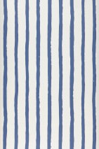 Wallpaper Kati Matt Stripes Cream Violet blue