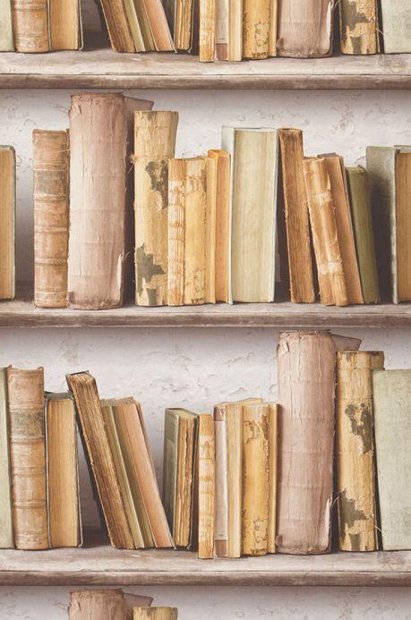 Archiv Papier peint Jimen jaune sable Largeur de lé