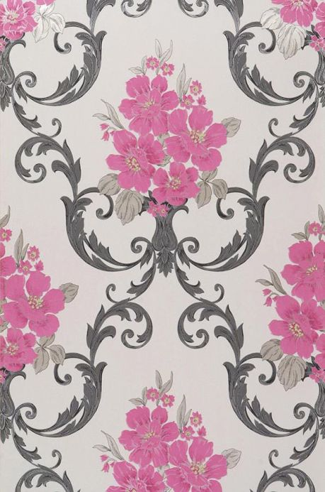 Archiv Wallpaper Thelma heather violet Roll Width
