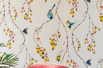 Wallpaper Francine cream