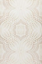 Wallpaper Selma Shimmering pattern Matt base surface Modern damask Cream Light ivory Light grey beige
