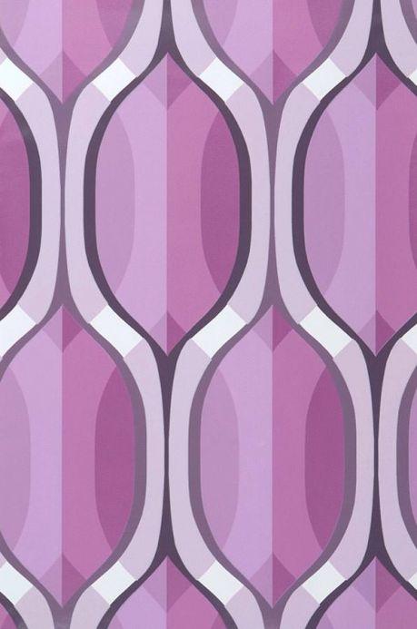 Archiv Papel pintado Belafanta tonos de violeta Ancho rollo