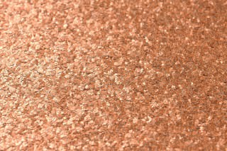 Wallpaper Mica Modern 01 Shimmering Solid colour Copper