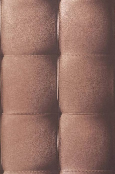 Archiv Wallpaper Kadmos light copper brown lustre Roll Width