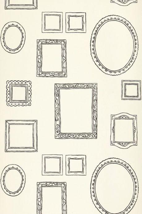 Archiv Papier peint Tisiphone gris noir Largeur de lé