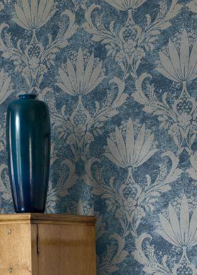 Papel de parede Dolce tons de azul Ver quarto