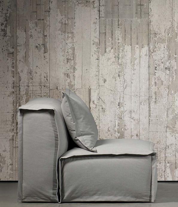 Papel pintado NLXL Papel pintado Concrete 06 beige grisáceo Ver habitación