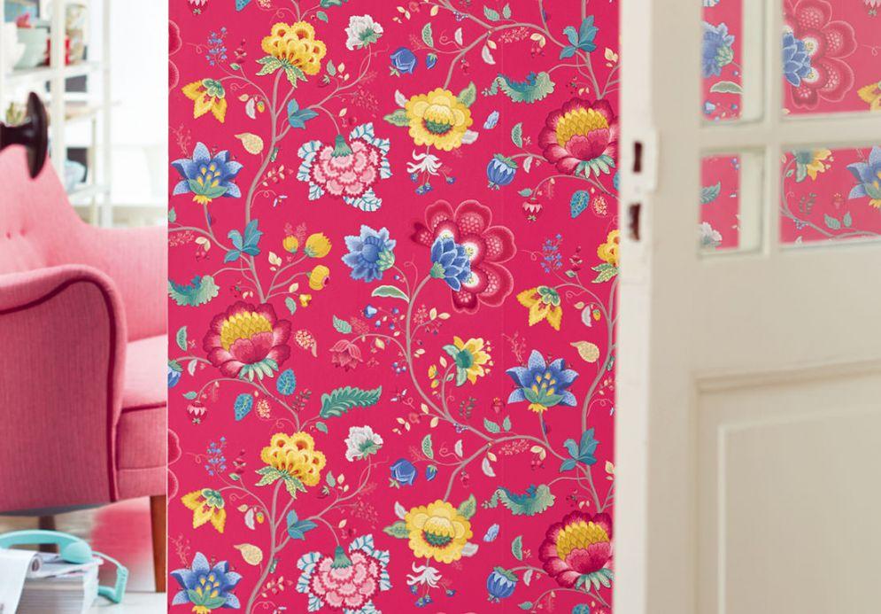 Archiv Papel pintado Belisama rosa Ver habitación