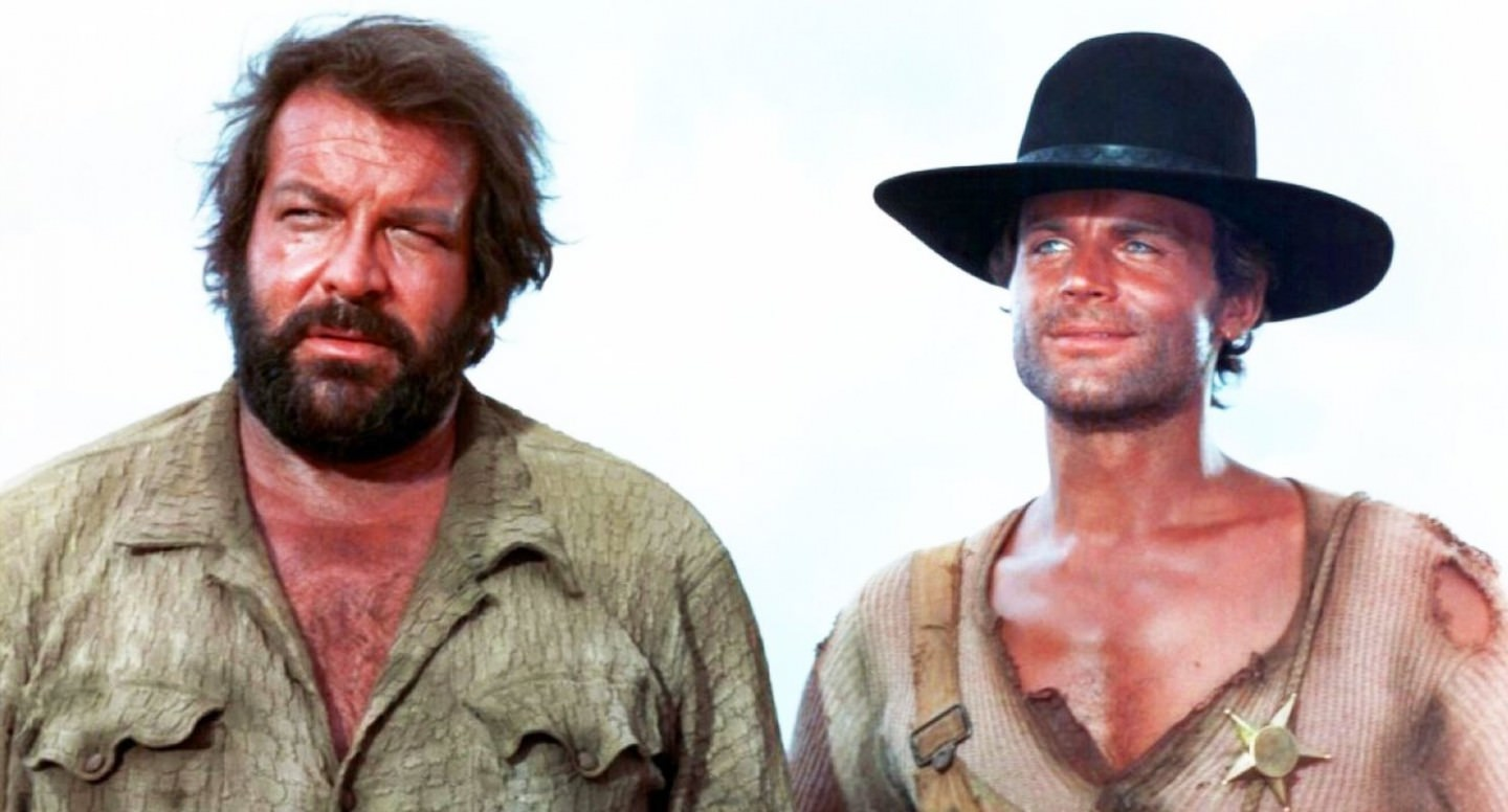 Histórias de Papel de Parede: Bud Spencer e Terence Hill