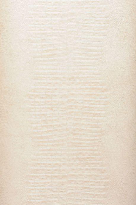Archiv Papier peint Gavial blanc crème Largeur de lé