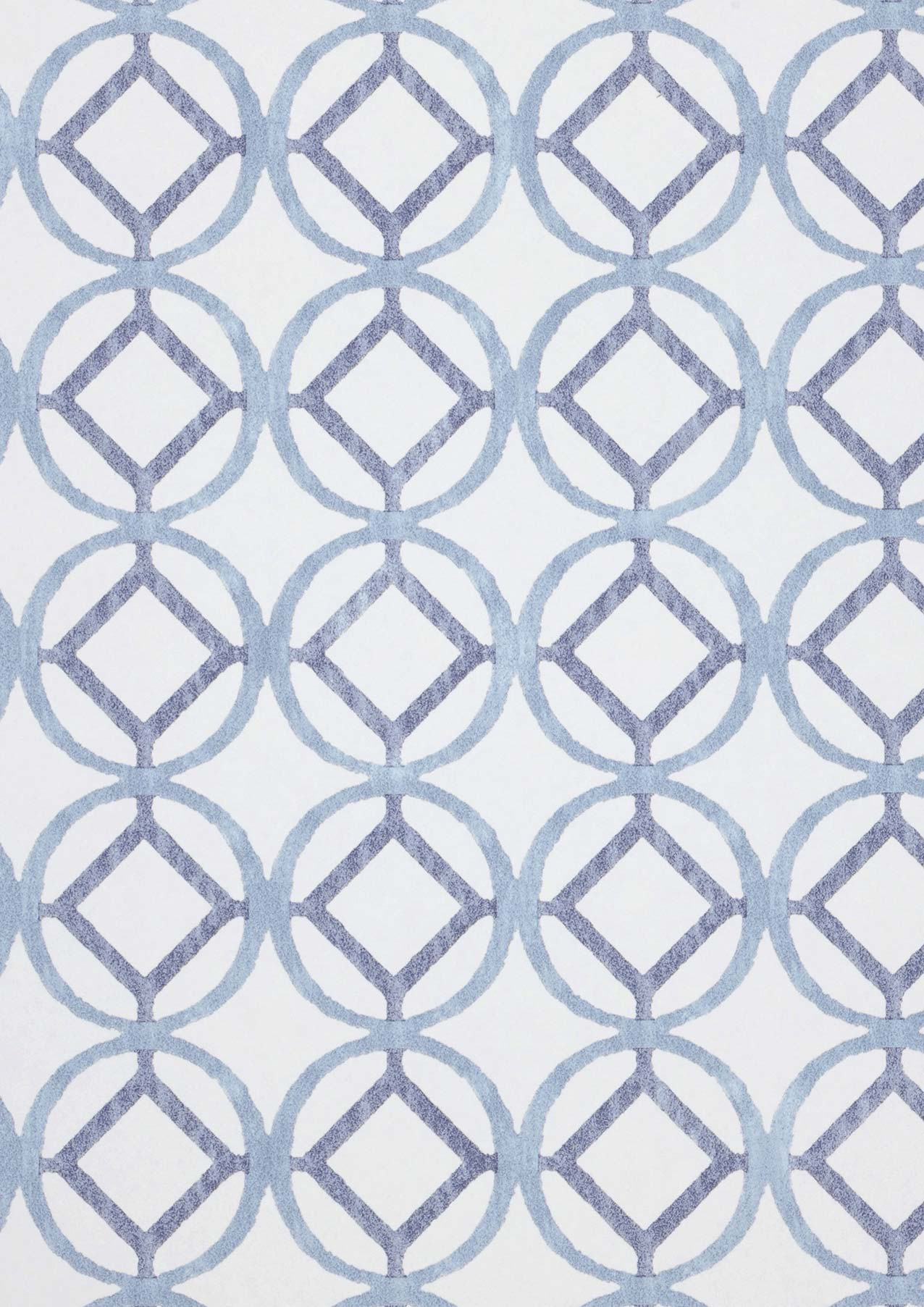 Tapete weiss graublau taubenblau tapeten der 70er for Tapete taubenblau