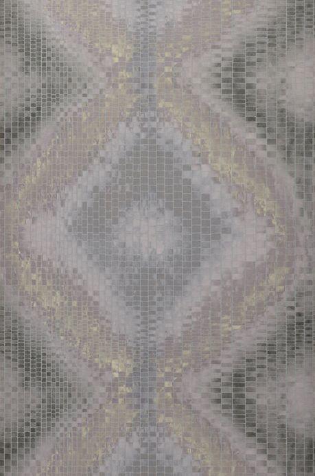 Archiv Papier peint Eniga gris silex Largeur de lé