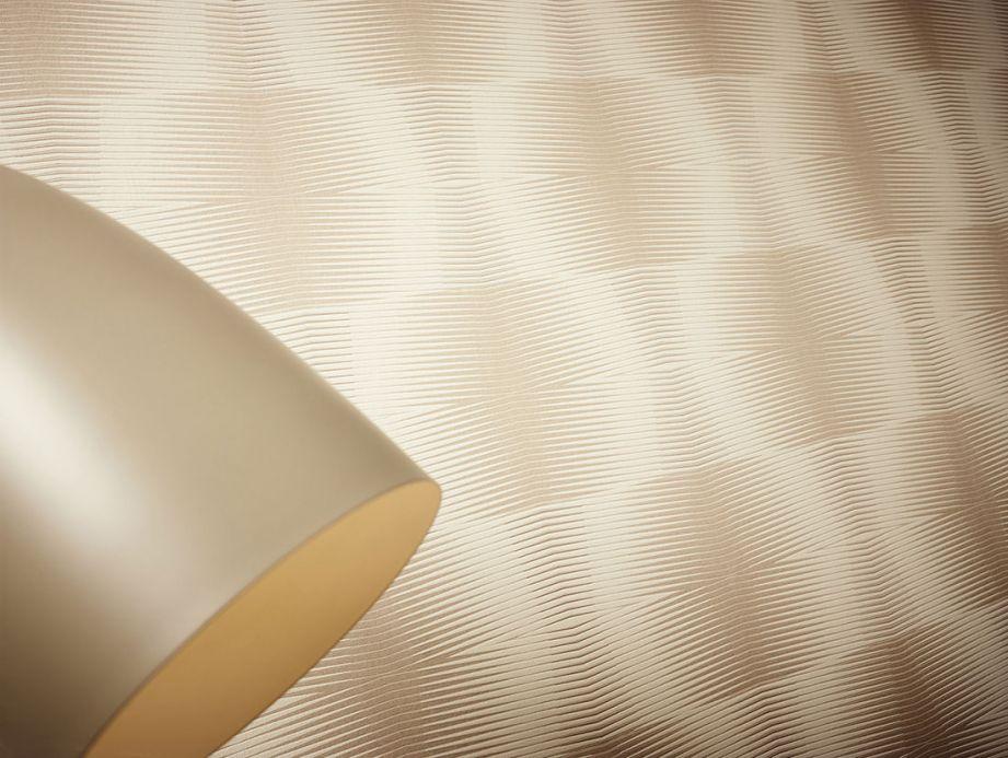 Archiv Papier peint Hubertus beige gris Vue pièce