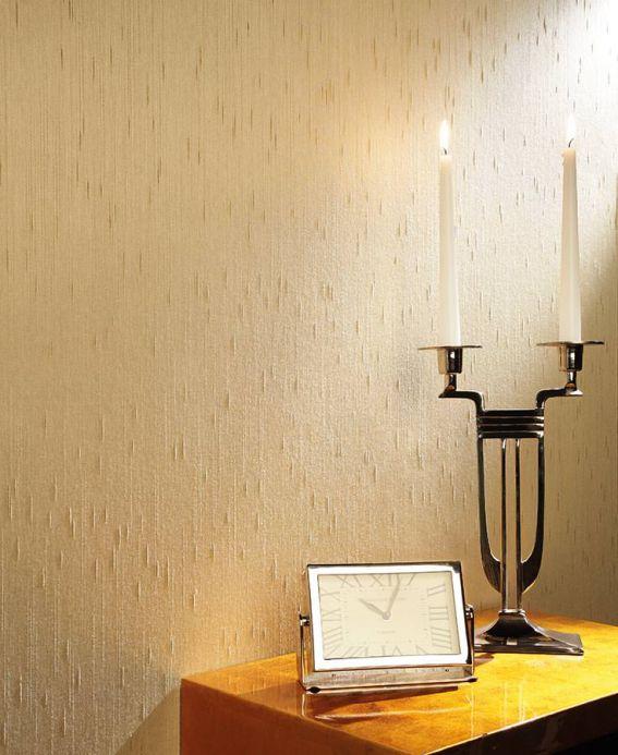 Papel de parede tecido Papel de parede Warp Glamour 12 bege Ver quarto