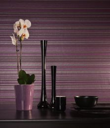 Wallpaper Merletto crimson violet