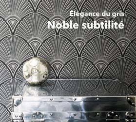 Papier Peint Gris Elegance Et Bien Etre Dans Notre Boutique Design