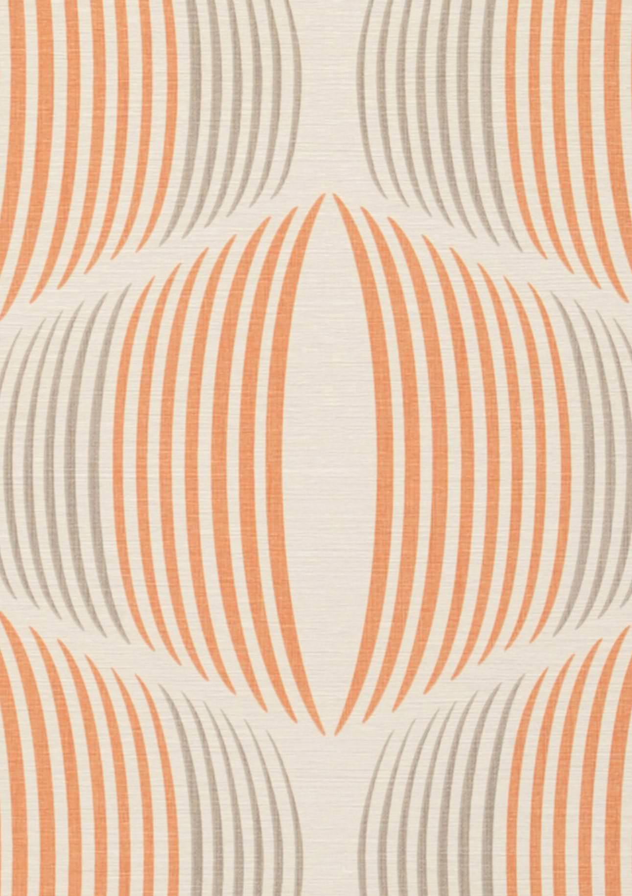 Tapete morena cremeweiss graubeige orange tapeten for Tapete nach hause