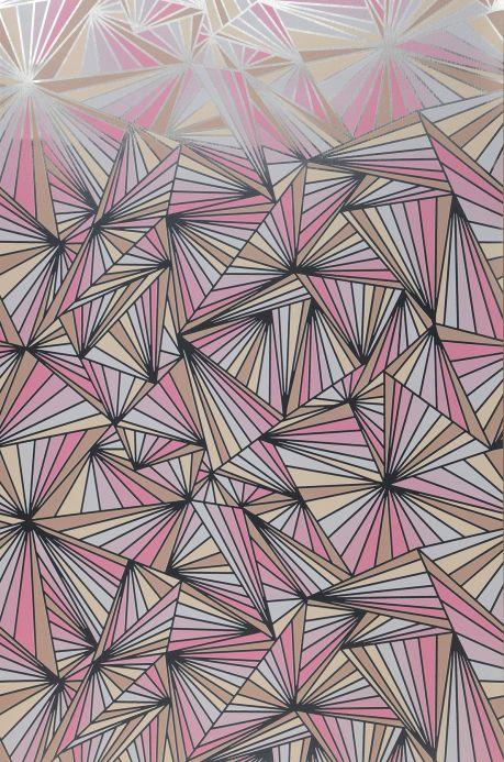 Geometric Wallpaper Wallpaper Fitzgerald rose Bahnbreite