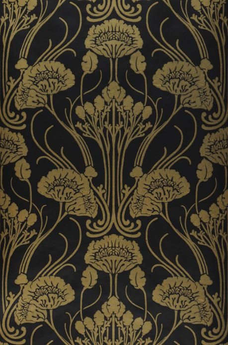 New arrivals! Wallpaper Sibia black Bahnbreite
