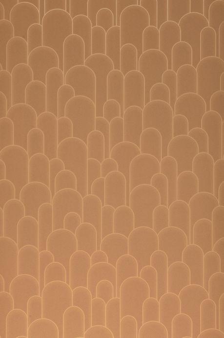 Art Deco Wallpaper Wallpaper Fabius brown beige Roll Width