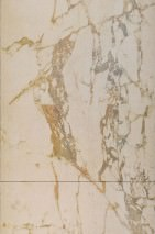 Tapete Marble 06 Matt Marmor-Imitation Blassbraun Creme Graubraun Ockerbraun