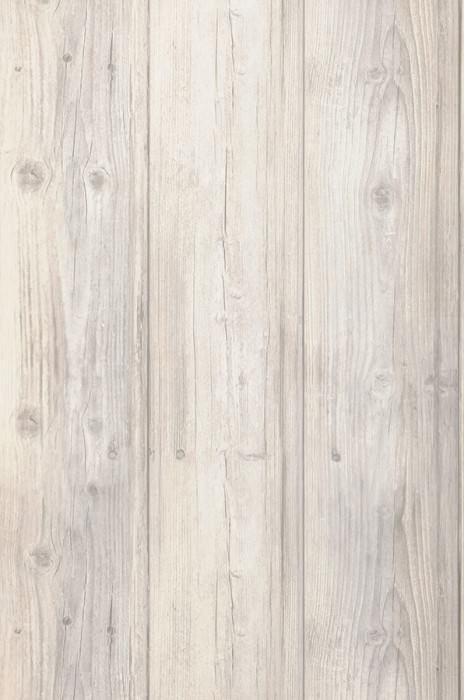Wallpaper Beach Wood Matt Old wooden boards Pale grey Grey white Light ivory