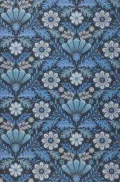 Papel de parede Johanna tons de azul
