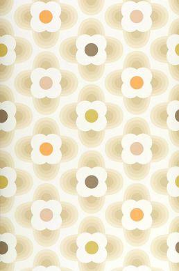 Papier peint Brahma beige Largeur de lé